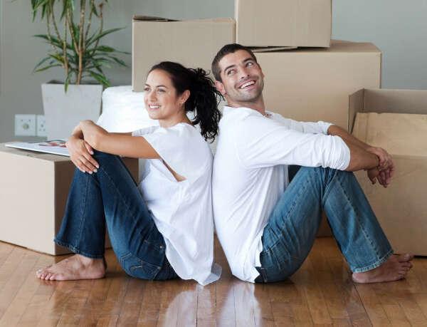 жить с любимым в своей квартире