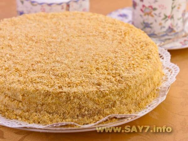 Приготовить торт «Наполеон»