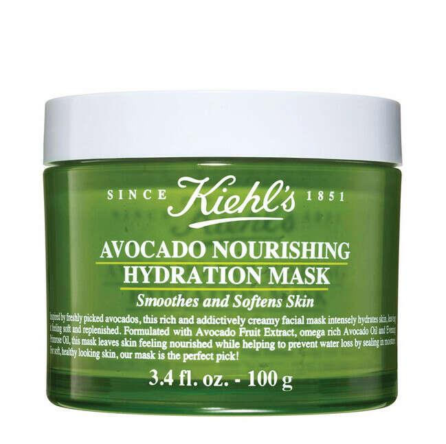 Маска с авокадо для увлажнения и питания кожи лица