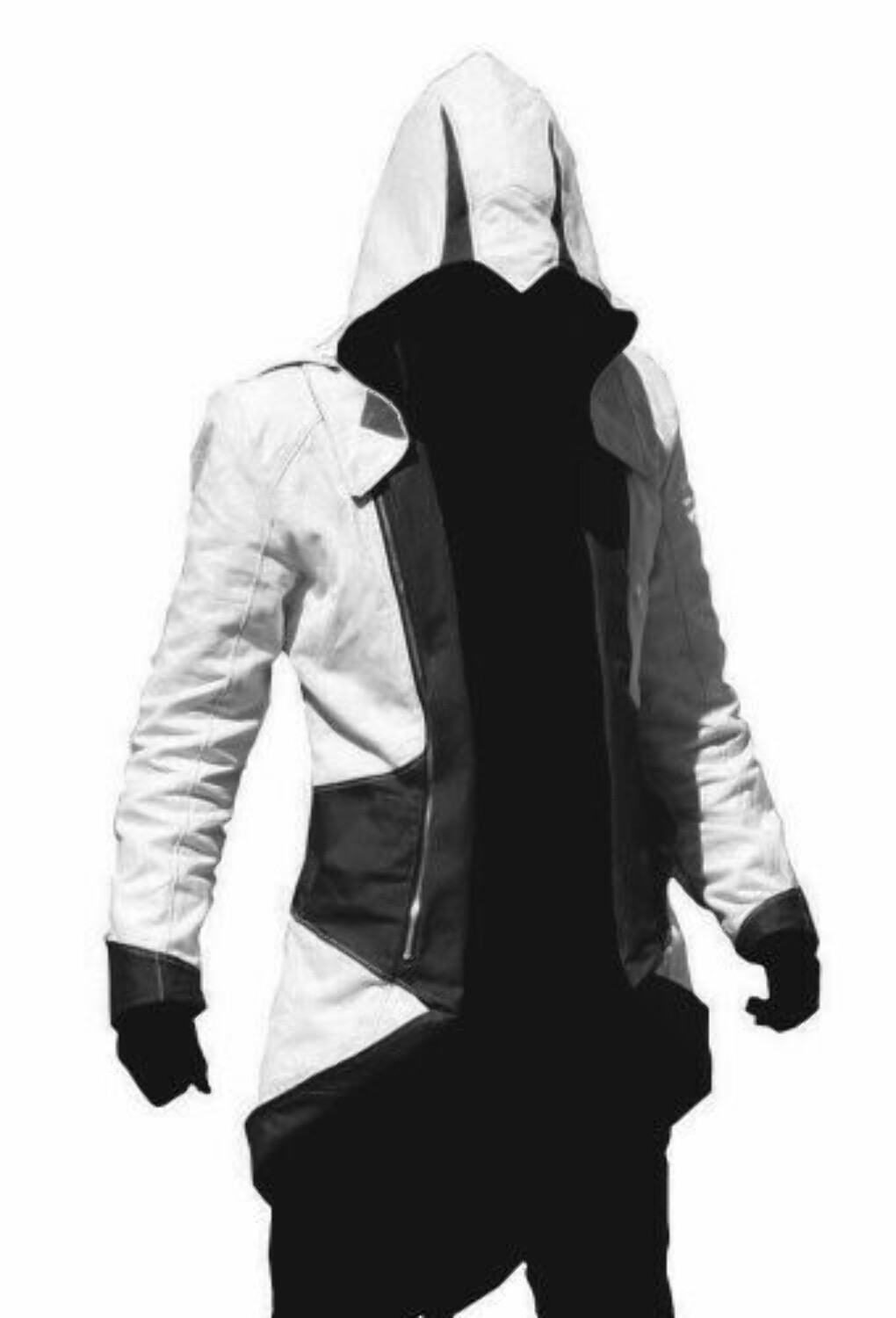 Assassins Creed 3 Connor/Conner Kenway Hoodie Costume Jacket Coat:Amazon:Clothing