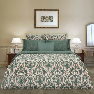 Постельное бельё Lastra Зеленый Cozy Home