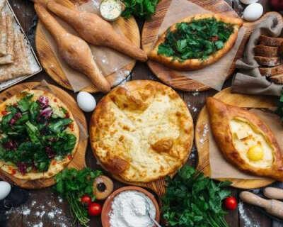 Попробовать грузинскую кухню