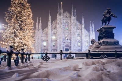 поехать зимой в Милан
