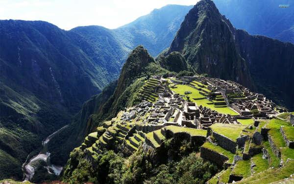 Гулять по Мачу-Пикчу
