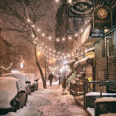 Visit New York City at Christmas time