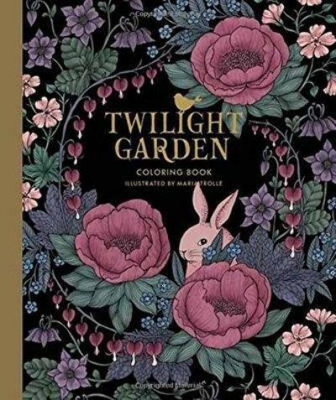 "Twilight Garden Coloring Book : Published in Sweden as ""Blomstermandala"""