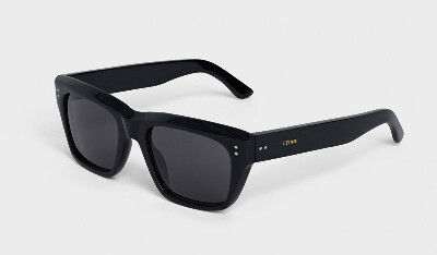 Celine black frame 01 sunglasses in acetate