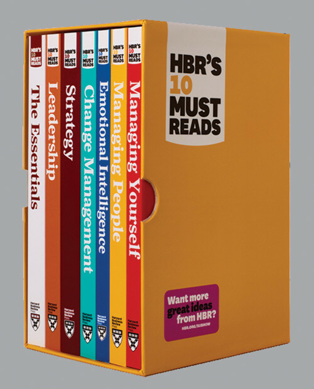 HBR's 10 Must Reads Boxed Set with Bonus Emotional Intelligence (7 Books)