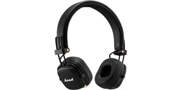 Мне нравится Marshall Major III Bluetooth Black