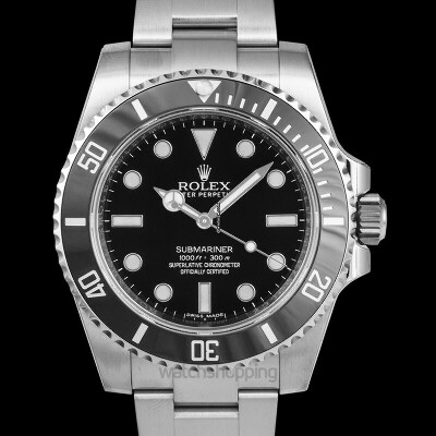 Rolex Submariner Black/Steel Ø40mm - 114060 for $10,959 for sale from a Trusted Seller on Chrono24