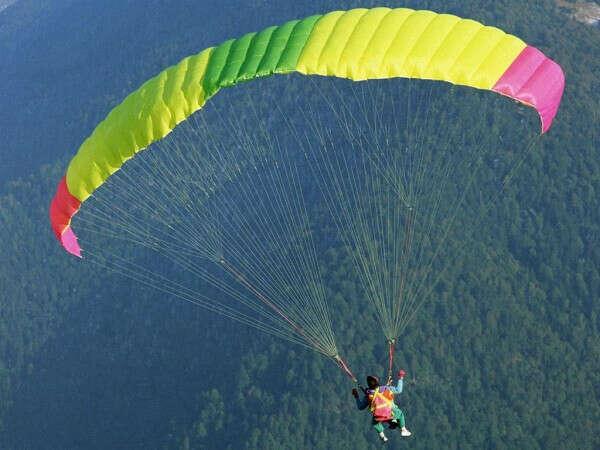 Прыжок с парашютом :)