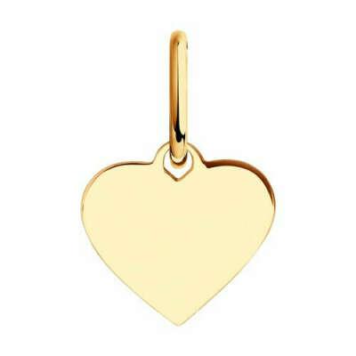 💎 Золотая Подвеска в виде Сердца от SOKOLOV
