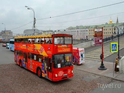 Покататься на двухэтажном автобусе)