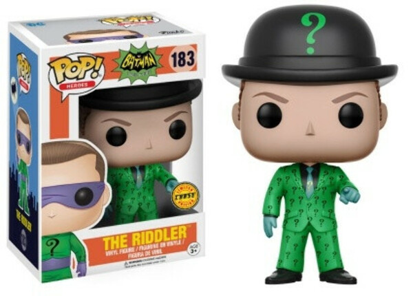 183. The Riddler with Bowler Hat / Загадочник
