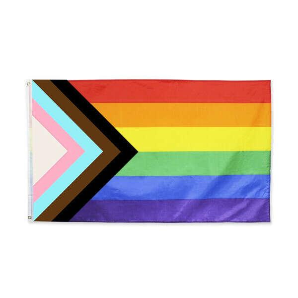 LGBT progress pride Flag