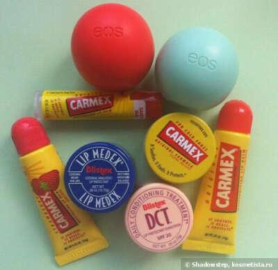 Уход за губами - Blistex,Carmex, EOS