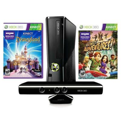 Игровая приставка Xbox 360 Microsoft 4GB + Kinect + Disney Adventures (S4G-00155)