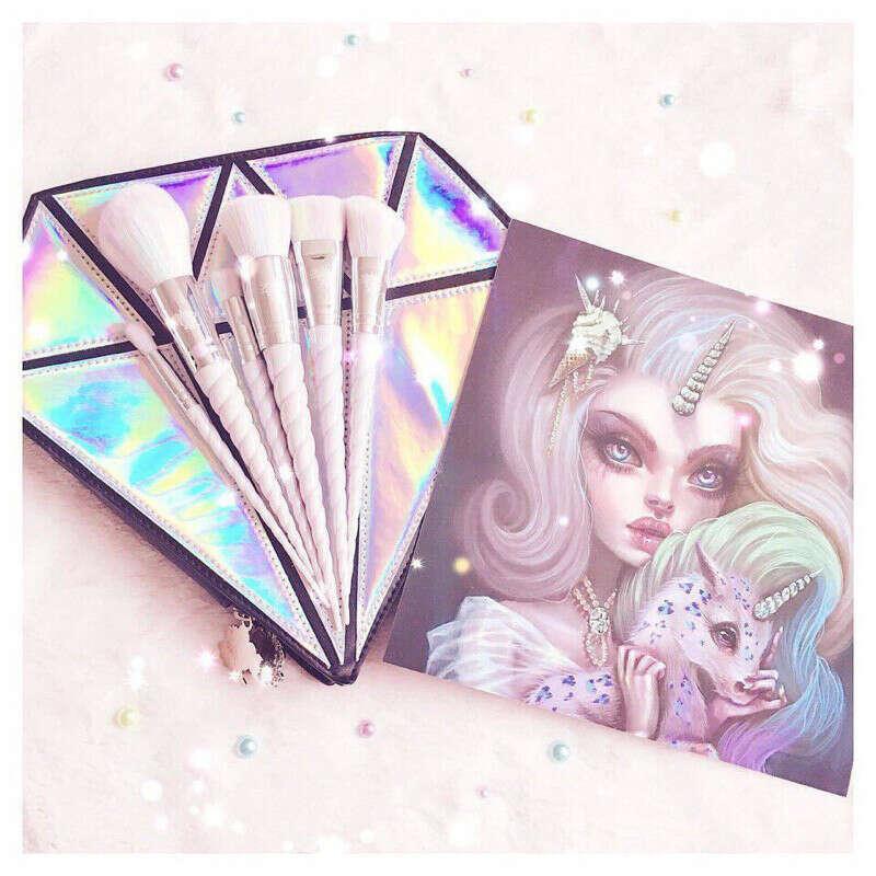 Кисти для макияжа unicorn