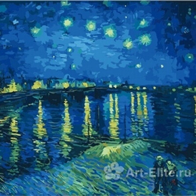 Раскраска по номерам Ван Гог