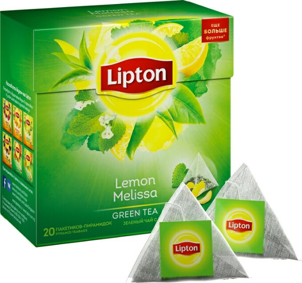Lipton Lemon Melissa Green Tea