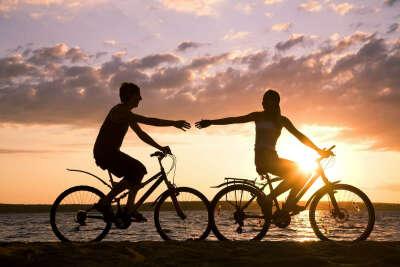 86.Устроить прогулку на велосипедах