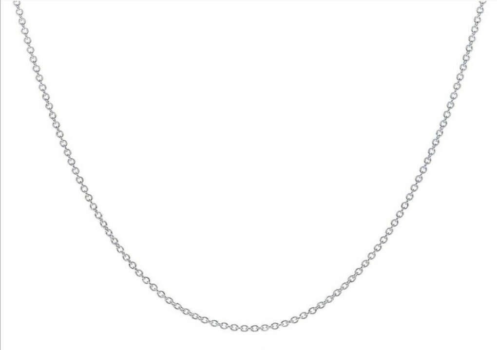 Цепочка из стерлингового серебра, Тиффани, 50,75см
