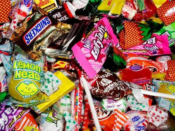 Много конфет!!!