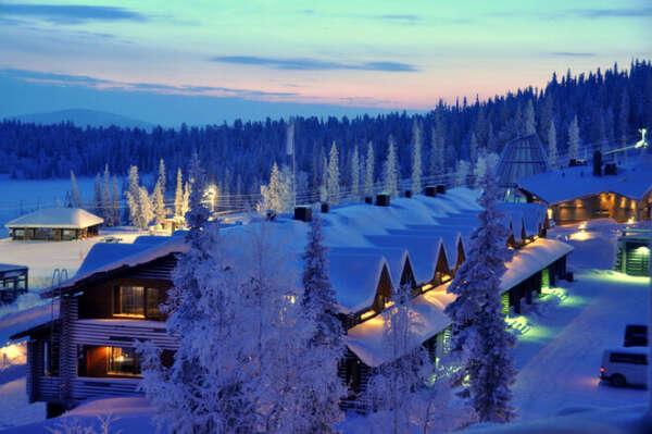 Финляндия в январе