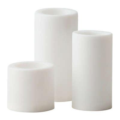 3 светодиодных свечи