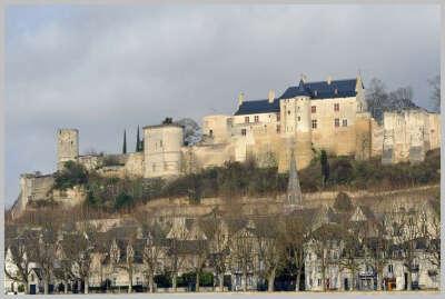 Шинон. Франция