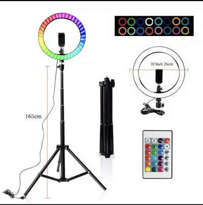RGB кольцевая лампа