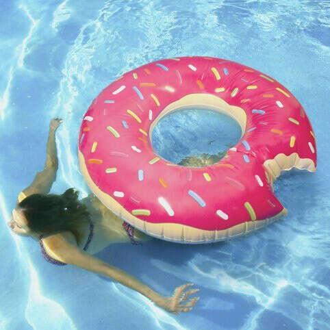 Doughnut Pool Float at Firebox.com