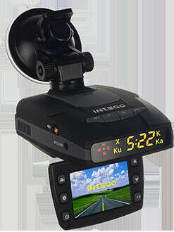 Видео регистратор + Антирадар + GPS INTEGO VX-460R