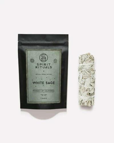 Благовония White Sage Калифорнийский белый шалфей mini SPIRIT RITUALS