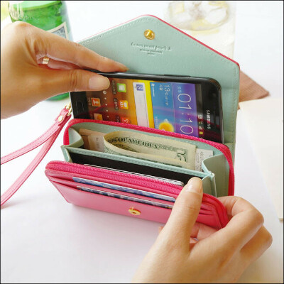 Crown Smart Pouch K_Apple iPhone/Galaxy S/Smart Phone Case Coin Card Wallet