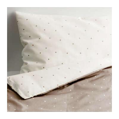 ОЛЬСКАД Комплект постельного белья, 3 предм   - IKEA