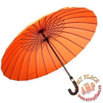 """Зонт """"Mabu"""" оранжевый"""