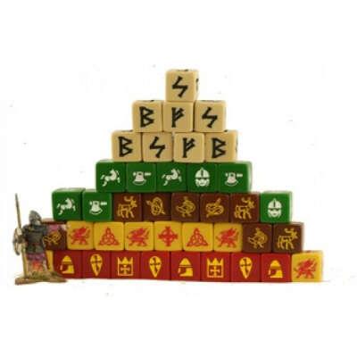 Кубы SAGA (с рунами, для викингов)