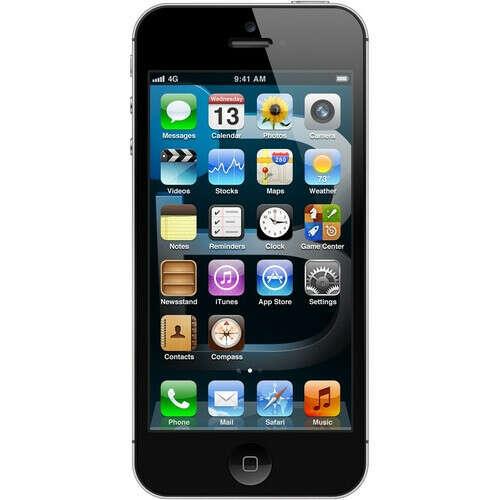 Смартфон Apple iPhone 5 64 ГБ черный