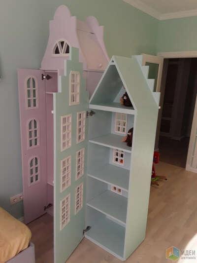 Кукольный дом-шкаф