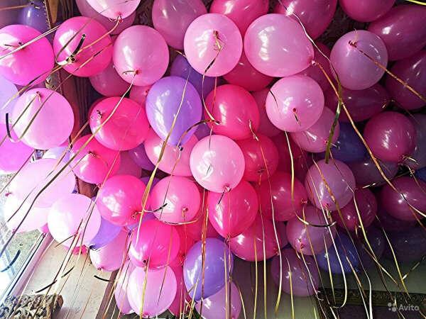 Много-много воздушных шаров)