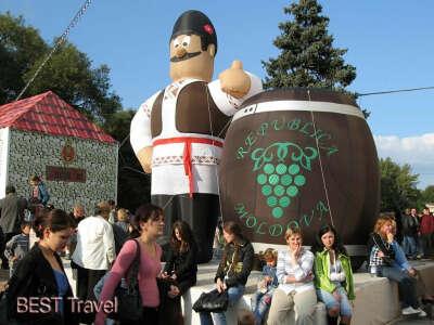 На праздник вина в Молдове