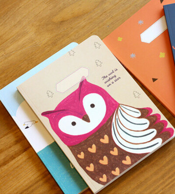 Тетрадь 'Schooling Note Ver.3' - Owl