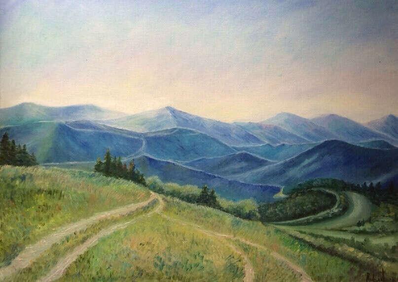 Научиться рисовать пейзажи