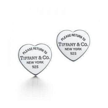 Серьги Tiffany™ сердечки