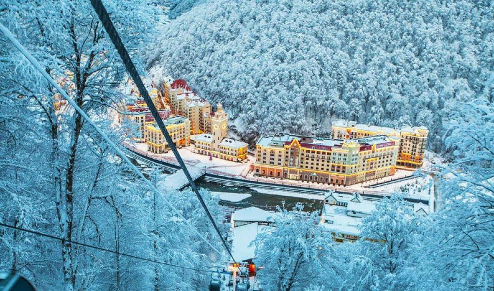 Новый год в Сочи. В отеле с видом на горы