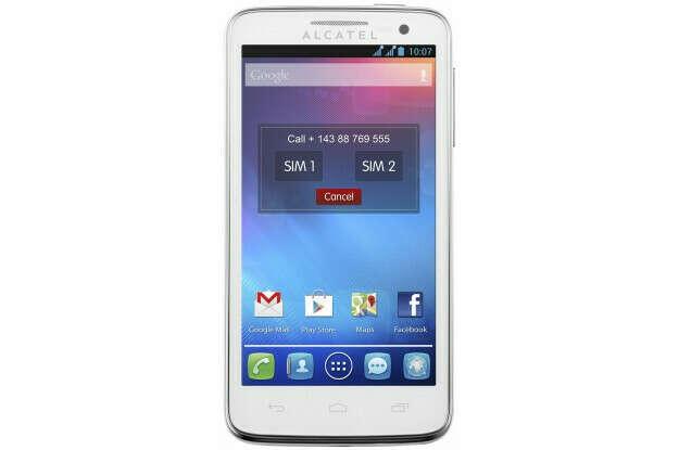 Новый телефон белый