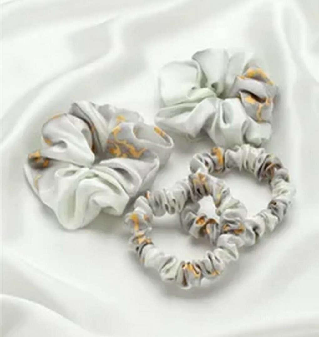 Шёлковые резинки для волос