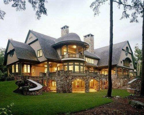 Большой красивый дом