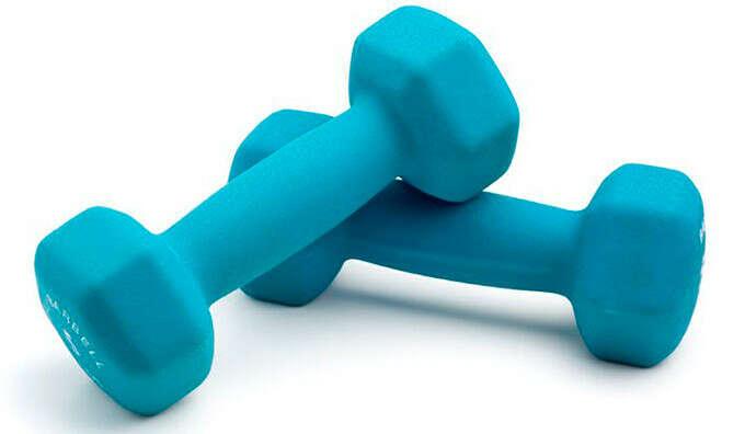 Гантели для фитнеса 1 кг